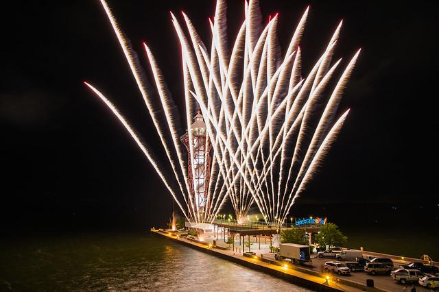 CelebrateErie 2016 Fireworks
