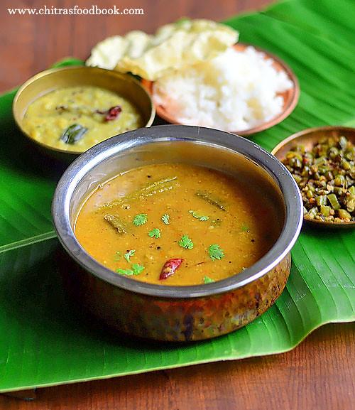 Varutharacha sambar recipe kerala