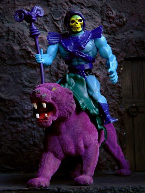 Skeletor Cat Toy