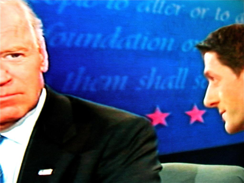 Joe Biden Paul Ryan Debate   Shut up little man Vice Preside