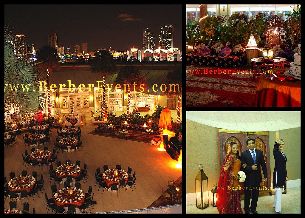 Indian Theme Wedding At The Parrot Jungle Miami Caidal Eve Flickr