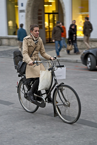 München trench style | by Vienna Cycle Chic