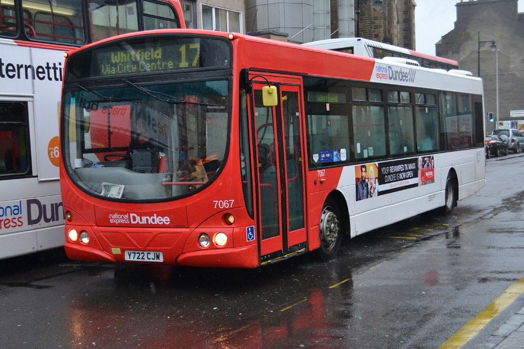 National Express Volvo B7l 7067 Y722cjw Dundee