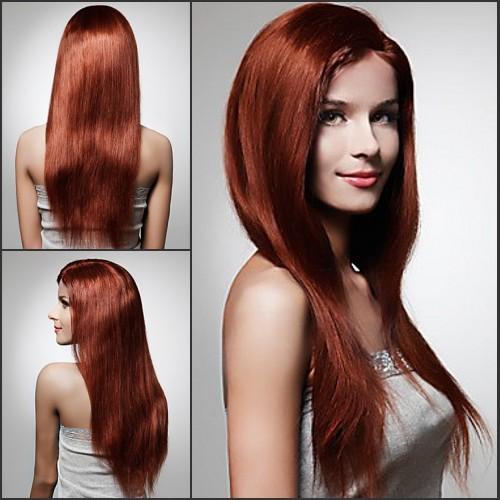 silky hair style