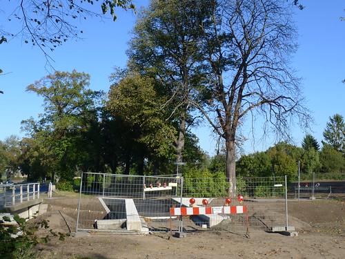 Baustelle Radfahrerbrücke #1