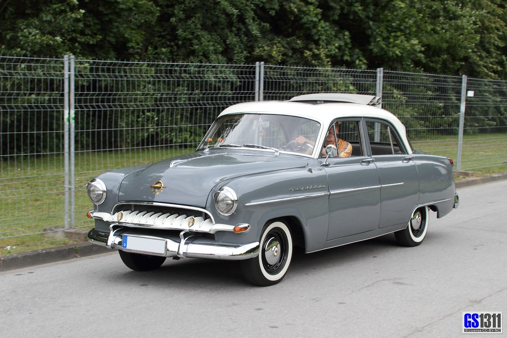 1953 opel kapit n 54 the opel kapit n was a car made in s flickr. Black Bedroom Furniture Sets. Home Design Ideas