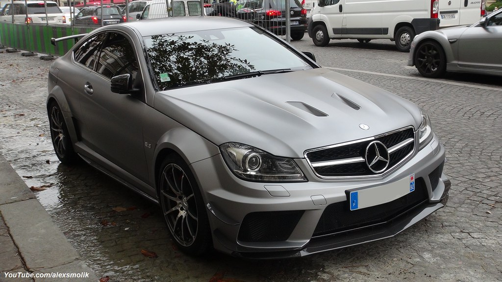 C63 Amg Black Series Can You Believe It This Is Actually Flickr