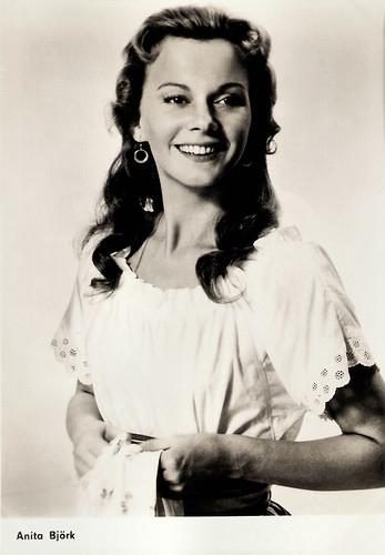 Anita Björk (1923 - 2012)