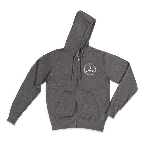 mercedes za hoodie by sportiqe apparel full zip hoodie. Black Bedroom Furniture Sets. Home Design Ideas