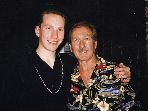 Kyle Esplin with James Burton, September 2000 | by Kyle Esplin