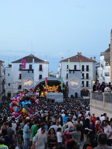 My world: WOMAD, Cáceres main square, Spain | by eltpics