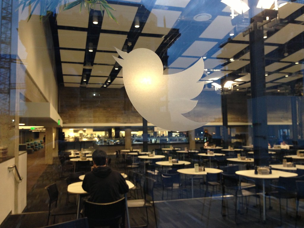 Twitter Headquarters Looking Into The Twitter Cafeteria