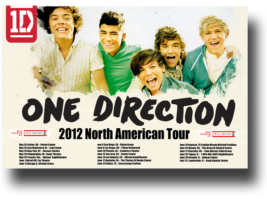 one direction concert tour poster 1d these posters availab flickr