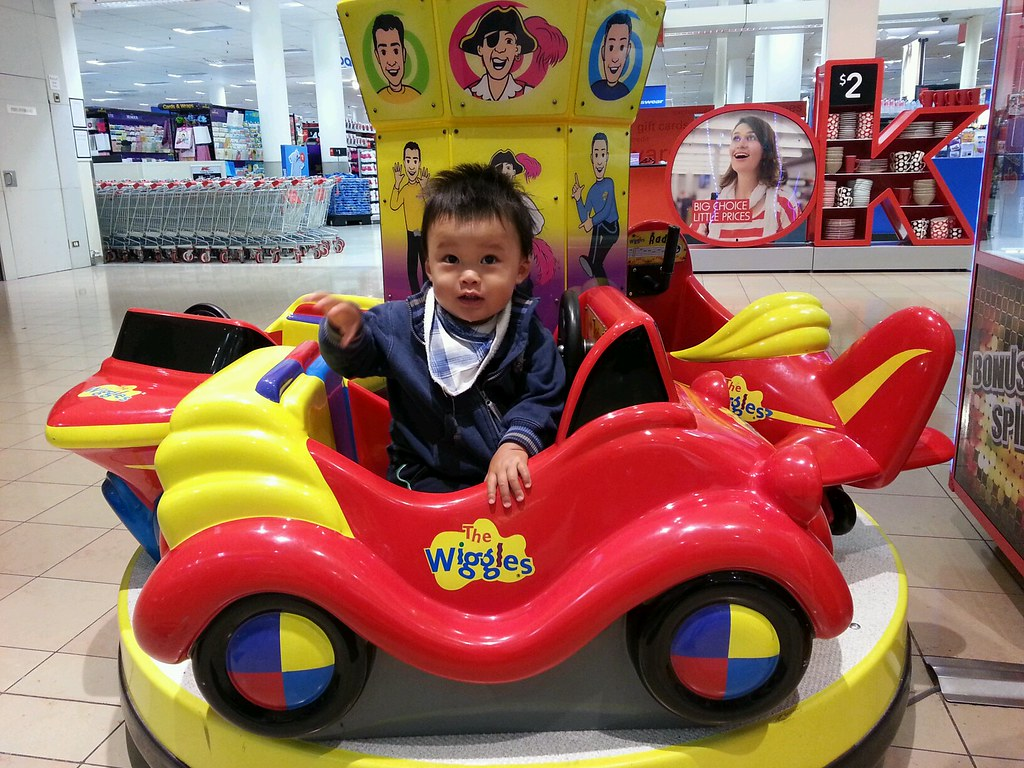 Isaac In The Wiggles Big Red Car Ride At Chadstone Flickr