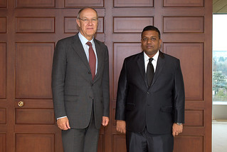 WIPO Director General Meets Maldivian Minister of Economic Development | by WIPO | OMPI