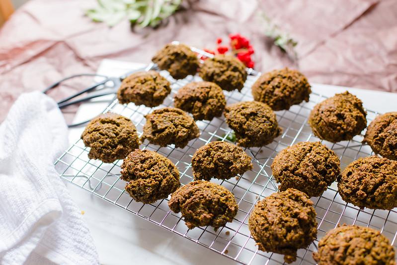 Baked Lentil Falafel
