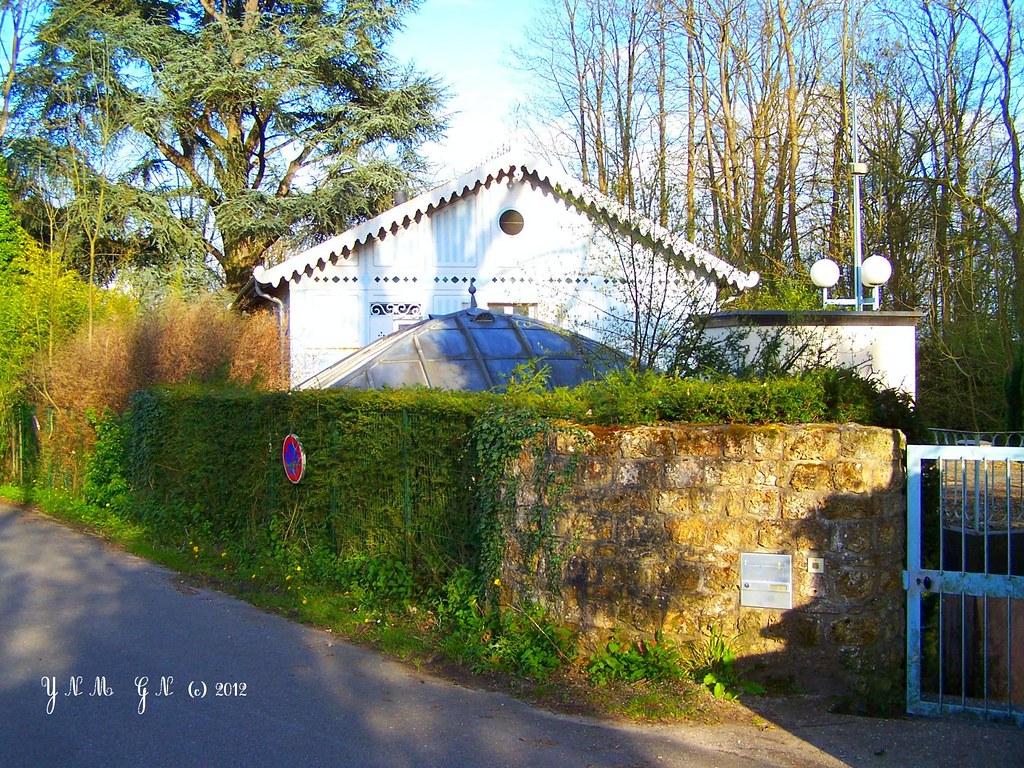 La maison de fer dampierre ventana blog for Parc naturel yvelines