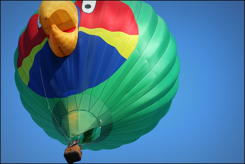 Angry Birds Hot Air Balloon | by K. Sawyer Photography