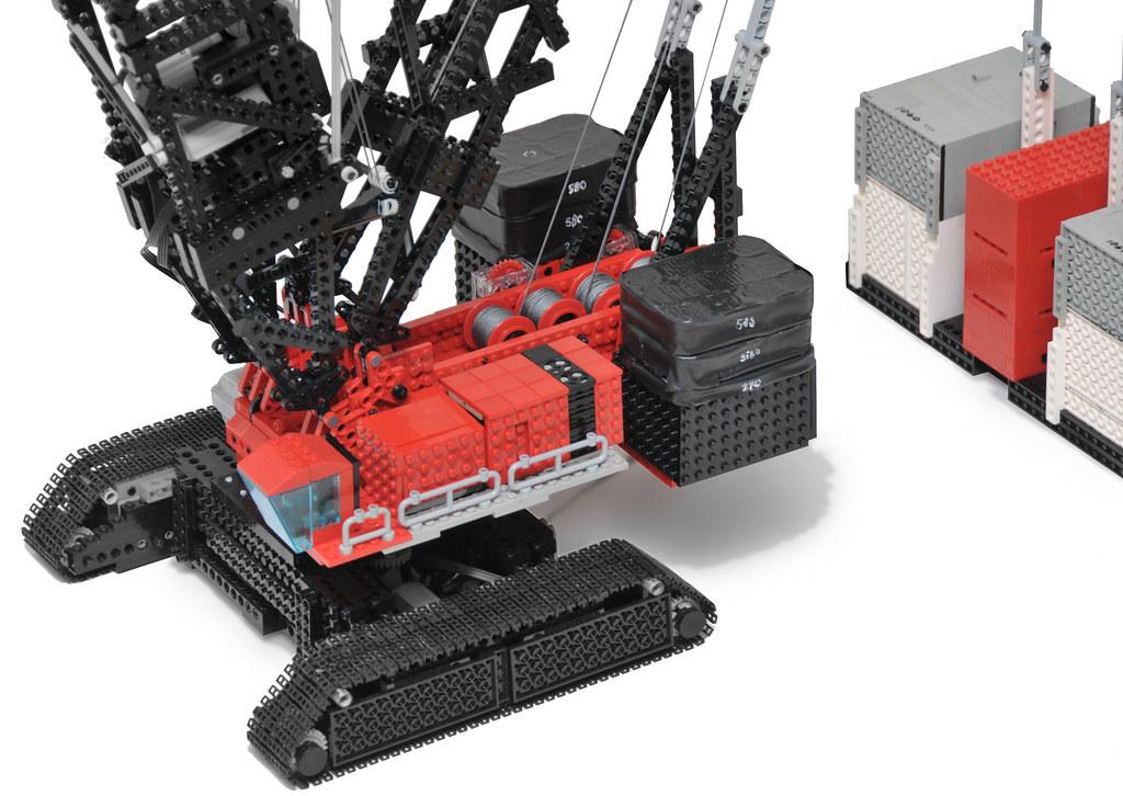 Lego Tower Crane Lego Technic Crawler Crane