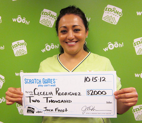 Cecilia Rodriguez - $2,000 Jack Frost | by Idaho Lottery