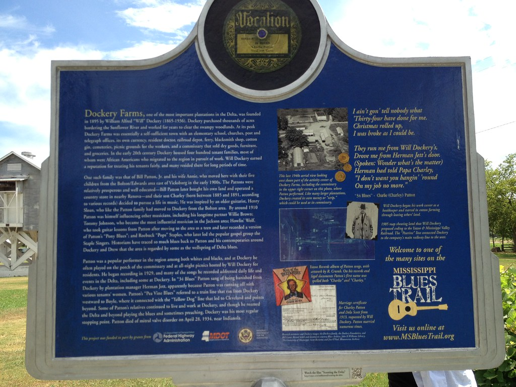 Blues trail marker back ruth blaylock foster ruleville for Amy ruth s home style southern cuisine