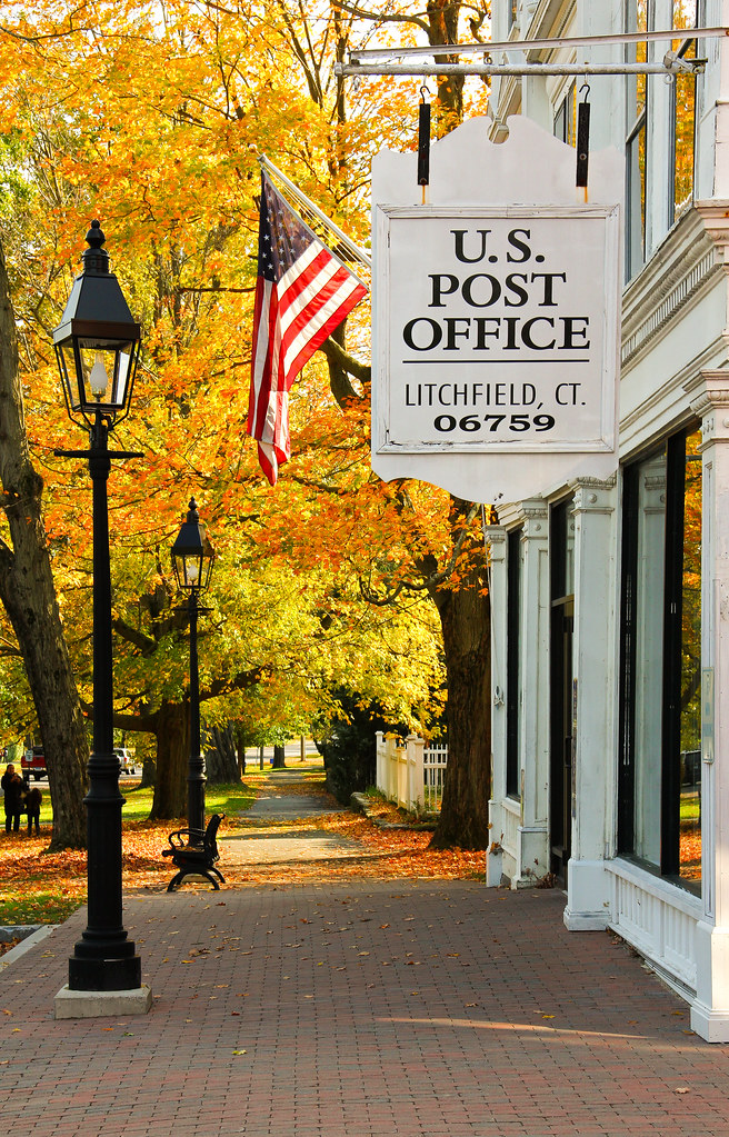 Us Post Office Litchfield Ct Steve Santore Flickr