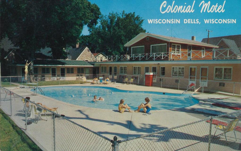 Colonial Motel - Wisconsin Dells, Wisconsin
