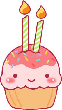 Cute Birthday Cake Gif