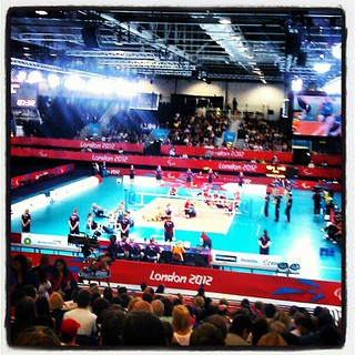 Parallel Lines at the Sitting Volleyball, London Paralympics 2012 | by daniel.d.slee