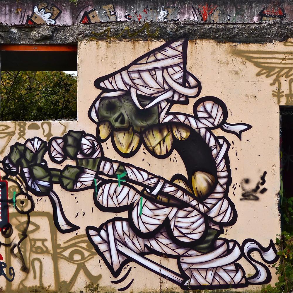 Graffiti wall utrecht -  Utrecht Graffiti Grindbak Kbtr By Akbar Sim