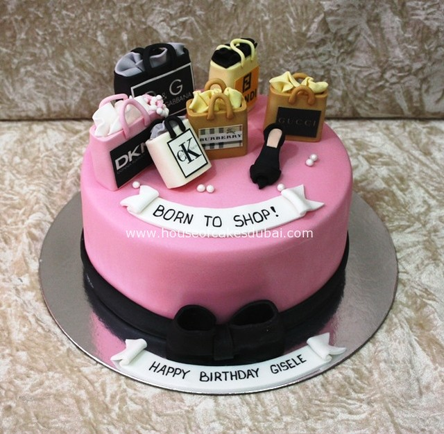 Born To Shop Cake Flickr Photo Sharing