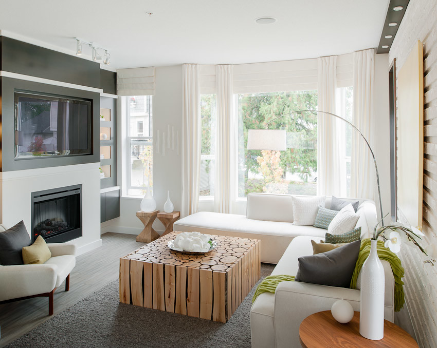 11 Design Ideas For An Entertainment Ready Condo Living Room