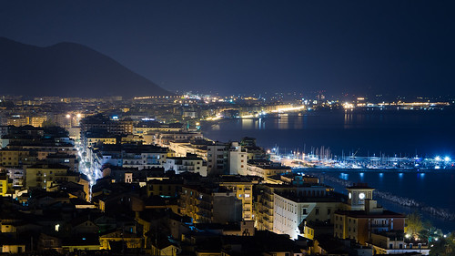 Salerno, night landscape 3 | www.andreaparaggio.com/ | Flickr