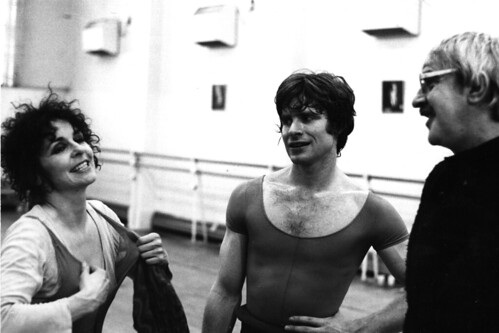 Lynn Seymour and David Wall in rehearsals with Kenneth MacMillan for Mayerling. © Roy Round 1978 | by Royal Opera House Covent Garden