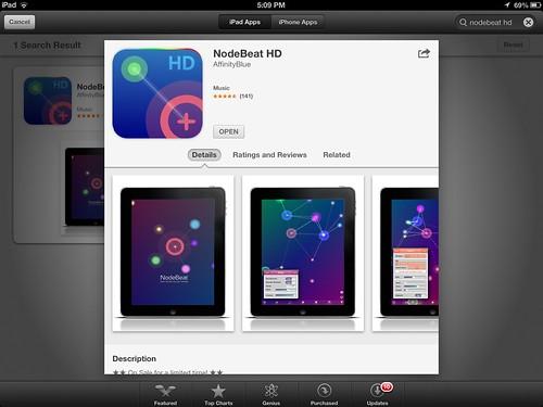 nodebeat hd ipad midi controller apps for music composit flickr. Black Bedroom Furniture Sets. Home Design Ideas
