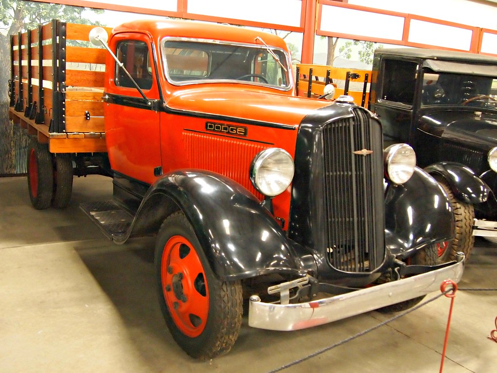 New Dodge Truck >> 1936 Dodge Brothers LE31 1½ Ton Stake Bed 3 | Photohraphed ...
