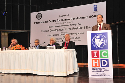 Launch of the International Centre for Human Development in India | by UNDP in India