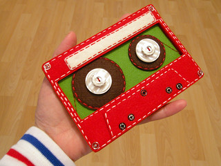 Felt Cassette Tape for TMBG iPhone App | by hine