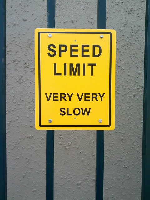 speed limit very very slow flickr photo sharing