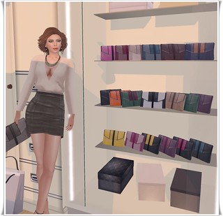 Maitreya Calgary Clutch/Whimsy's dressing room (lol) | by `*•.¸Whimsy¸.•*´