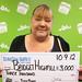 Bridget Highfill - $3,000 Triple Payout