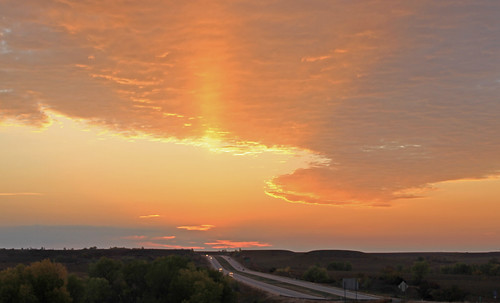 I-70 Sunrise | by Geary County Convention and Visitors Bureau