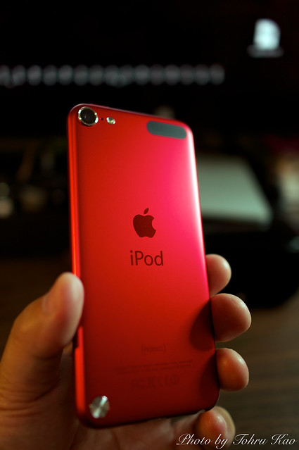 ipod touch red 5th generation flickr photo sharing. Black Bedroom Furniture Sets. Home Design Ideas