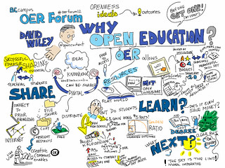 @bccampus #OERforum @opencontent Why Open Education? [visual notes] | by giulia.forsythe