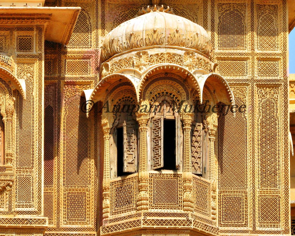 Jharokha Patwa Ki Haveli Jaisalmer As Described In
