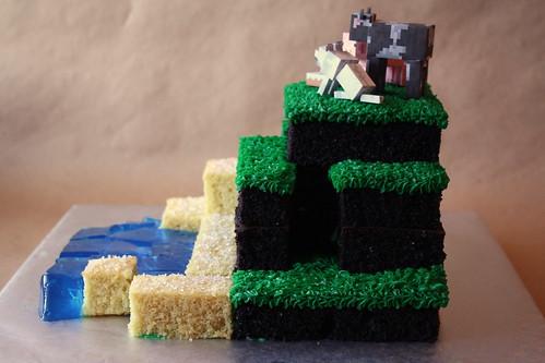 Minecraft Creeper Cake Pan