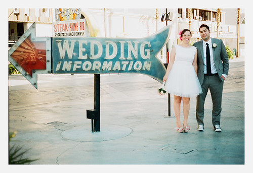 las vegas wedding information sign | by Gaby J Photography