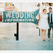 las vegas wedding information sign