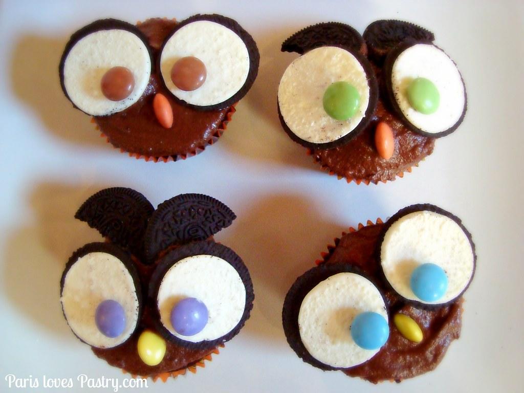 Oreo Owl Cupcakes Superrrr delicious chocolate cake recipe Flickr