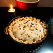 Apple pie made with local apples